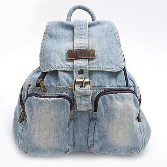 Fashion Women backpack vintage backpacks for teenage girls casual ...