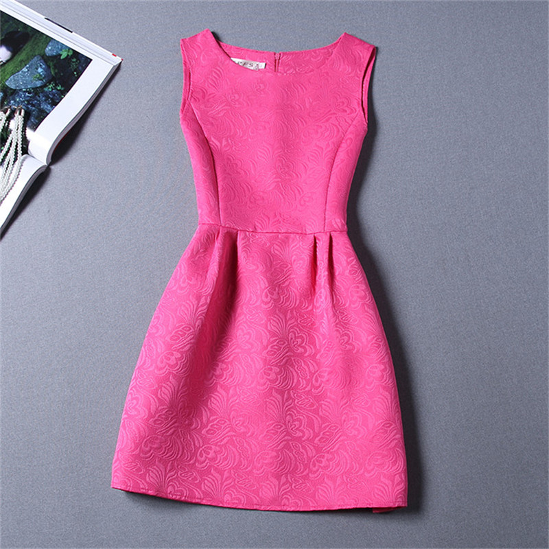 Summer Sleeveless Girls Dresses Daily Casual School Wear Teen Girl Floral A-line Dress Children Clothing for 6 8 10 12 Years 10