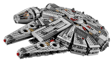 LEPIN 05007 Space Star Wars Starwars The Force Awakens Millennium Falcon Minifigures Building Blocks Bricks Rey BB8 Model Toys