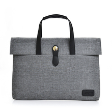 ФОТО  Men Laptop Handbags Designer Portable 14 Computer Casual Tote Carrying Office Ol Business Unisex Denim Laptop Briefcases