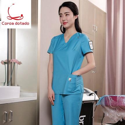 Dental nurse 39 s long sleeve winter suit for women 39 s skin management medical beauty 39 s uniform in Nurse Uniform from Novelty amp Special Use