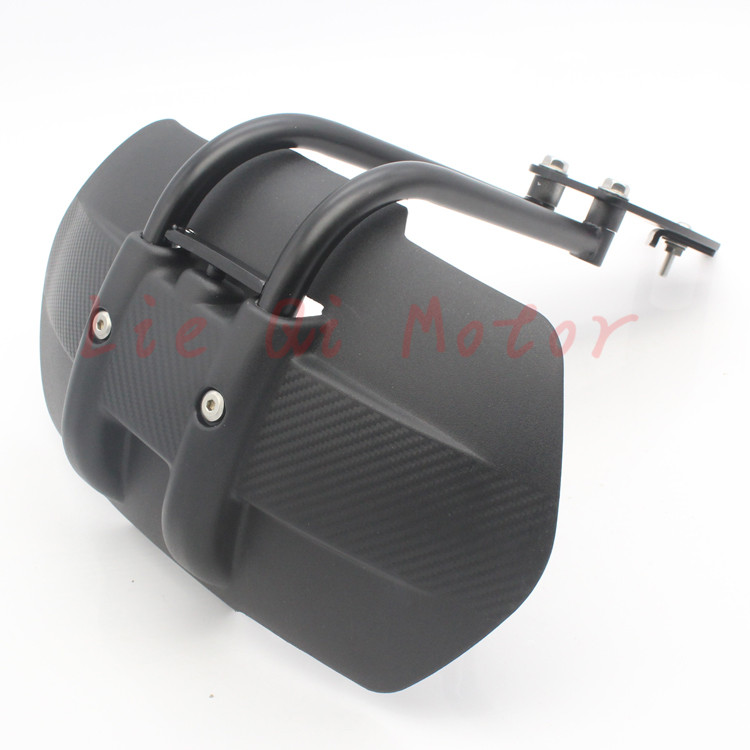 Free Shipping Aluminum Motorcycle Accessories Rear Fender Bracket Motorbike Mudguard For MT09 MT-09 BN302 BJ600GS BN600 BJ250-15 motorcycle tail tidy fender eliminator registration license plate holder bracket led light for ducati panigale 899 free shipping