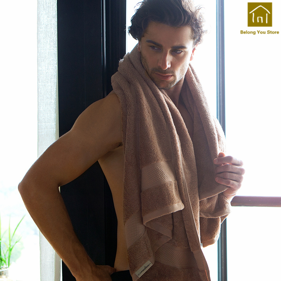 Plus épais féminin Couple serviettes doux absorbant hôtel salle De bain Toallas serviette voyage Toalha De Banho serviettes De bain pour adultes WKZ008