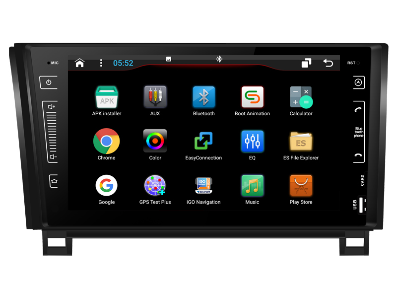 OTOJETA DSP stéréo carplay android 8.1 autoradio pour TOYOTA Tundra accessoires auto séquoia Gps navigation magnétophone
