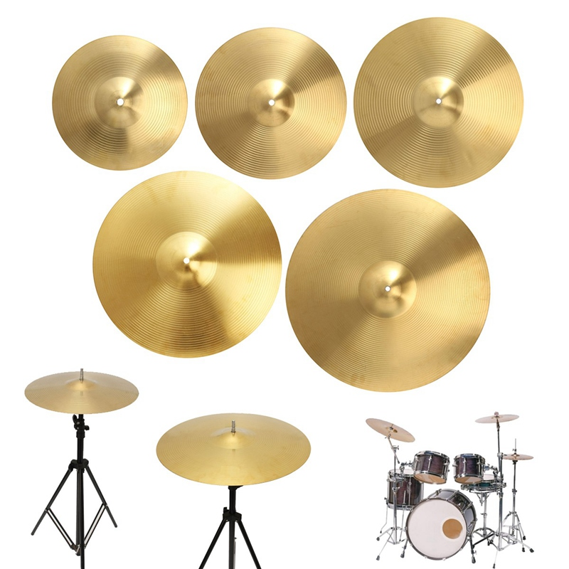 high quality 1pc drums cymbals drums part size 12 14 16 18 20 inch splash ride crash highhat. Black Bedroom Furniture Sets. Home Design Ideas