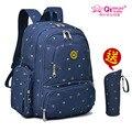 Qimiaobaby mochilas de viaje mochila del pañal del panal de maternidad multifuncional de gran capacidad madre mamá momia del bolso del bebé bolsas de bebe