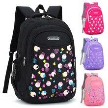 Купить с кэшбэком Fashion girl schoolbag 2-5 Student Bag Large-scale Decompression Backpack Youth Travel Bags 2018 Shoulder Rucksack Daily Bagpack