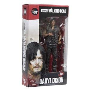 Image 5 - Figurine AMC The Walking Dead, jouet à collectionner, modèle en PVC, 15CM, jouet Daryl Rick Negan, cadeau pour enfant