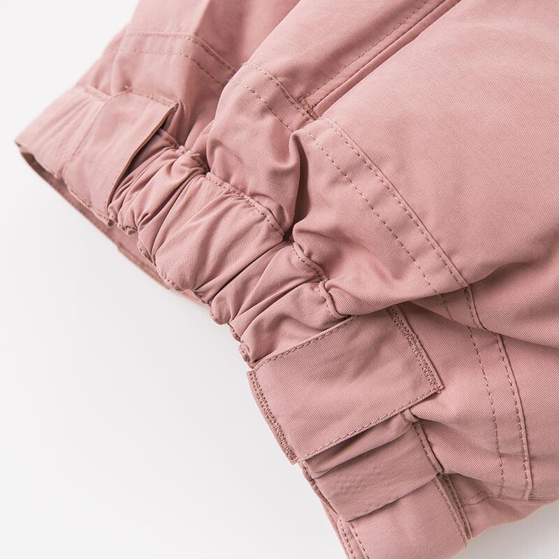DB8944 dave bella autumn baby unisex fashion pants children full length kids pants infant toddler down trousers
