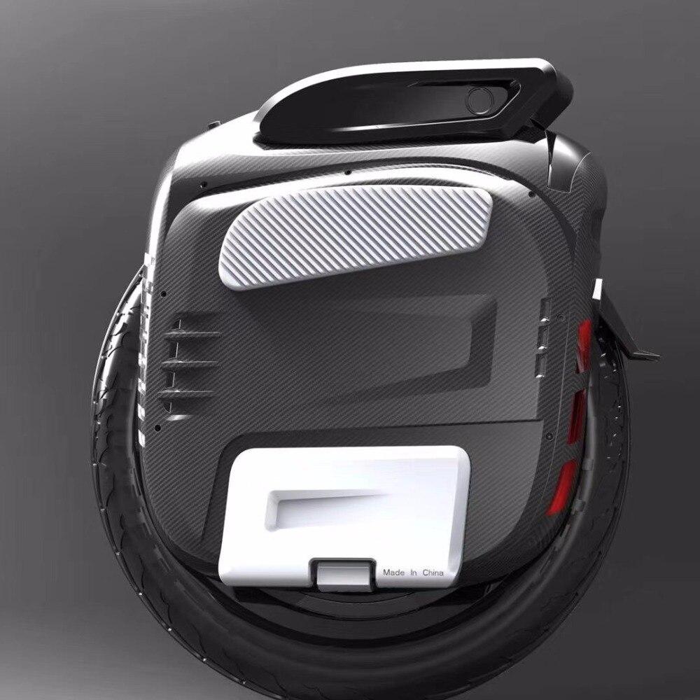 2018 Date Gotway Msuper X Électrique monocycle 1600WH 84 v/100 v 1230WH Max vitesse 55 km/h +, 2000 w moteur, max 4000 w, 19 pouces Freeshipping