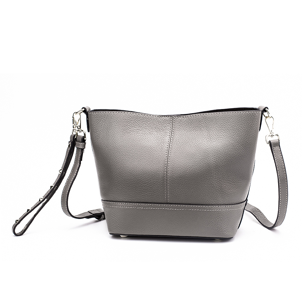 Miyaco brand genuine leather handbag women small tote bag shoulder bags female Solid leather bucket bag crossbody bags for women women bag female handbags leather shoulder bag crossbody famous brand tote handbag round flower black cute small fashion bags