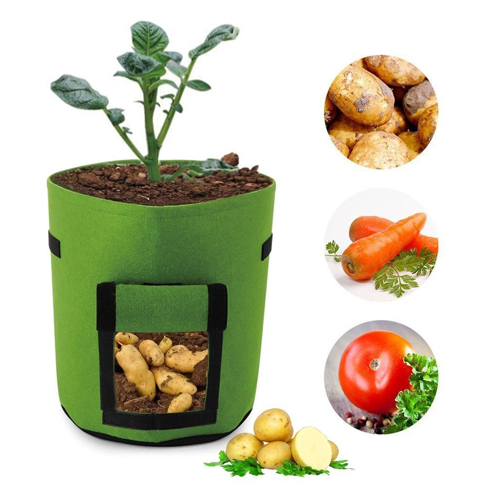 3035 Cm Pflanze Wachsen Tasche Kartoffel Wachsen Pflanzer Pe Tuch