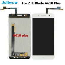 For ZTE Blade A610 Plus LCD Display with Touch Screen +tools Screen Digitizer Assembly Replacement For zte Blade A610 plus white black for zte blade a310 lcd display touch screen digitizer assembly replacement free shipping order tracking