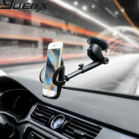 Rotary Suction CD Slot Car Air Vent Clip Mobile Phone Car Holders Stands For IPhone X