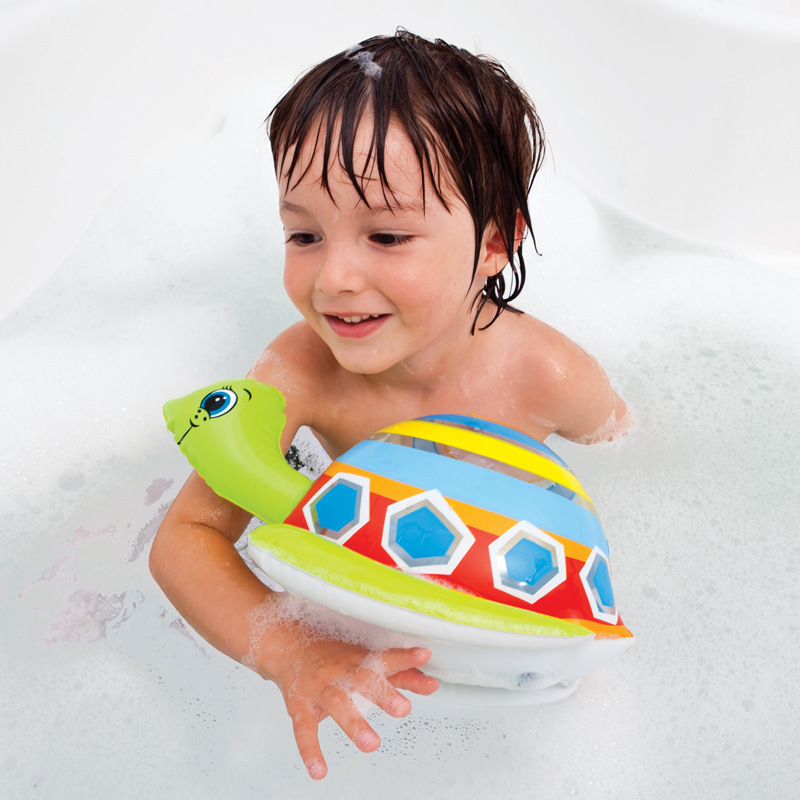 New Style Infants Inflatable Water Toys Children's Bath Swimming Water Play Sand Animal Shape