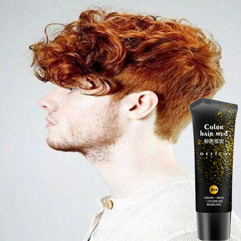 Gel cheveux couleur or