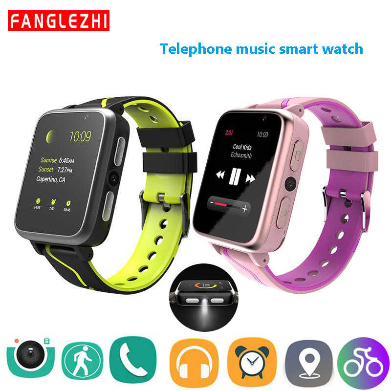 Smart Watch For Children Phone Watch Music MP3 Player Smartwatches Fitness Camera SOS Alarm Clock Boy Girl Kid Student Watch