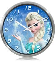 2016 Frozen children's animation creative mute wall clock watch living room decorative clocks