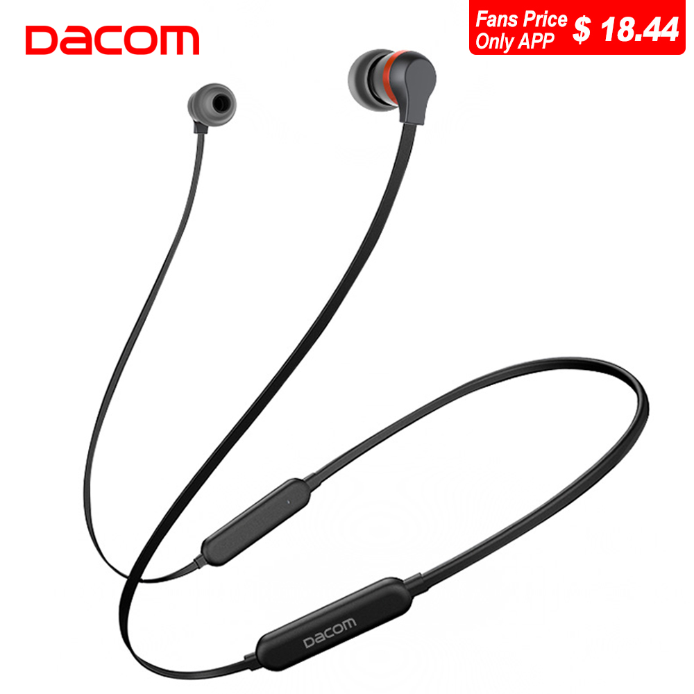 Dacom L06 Wireless Headphones Bluetooth Earphone 2018 Sports Stereo APTX in-Ear Earbuds Earphones Headset with Mic for Phone TV ttlife high quality stereo earphone wireless bluetooth 4 1 sports earphones ear hook earbuds with mic for iphone xiamo phones