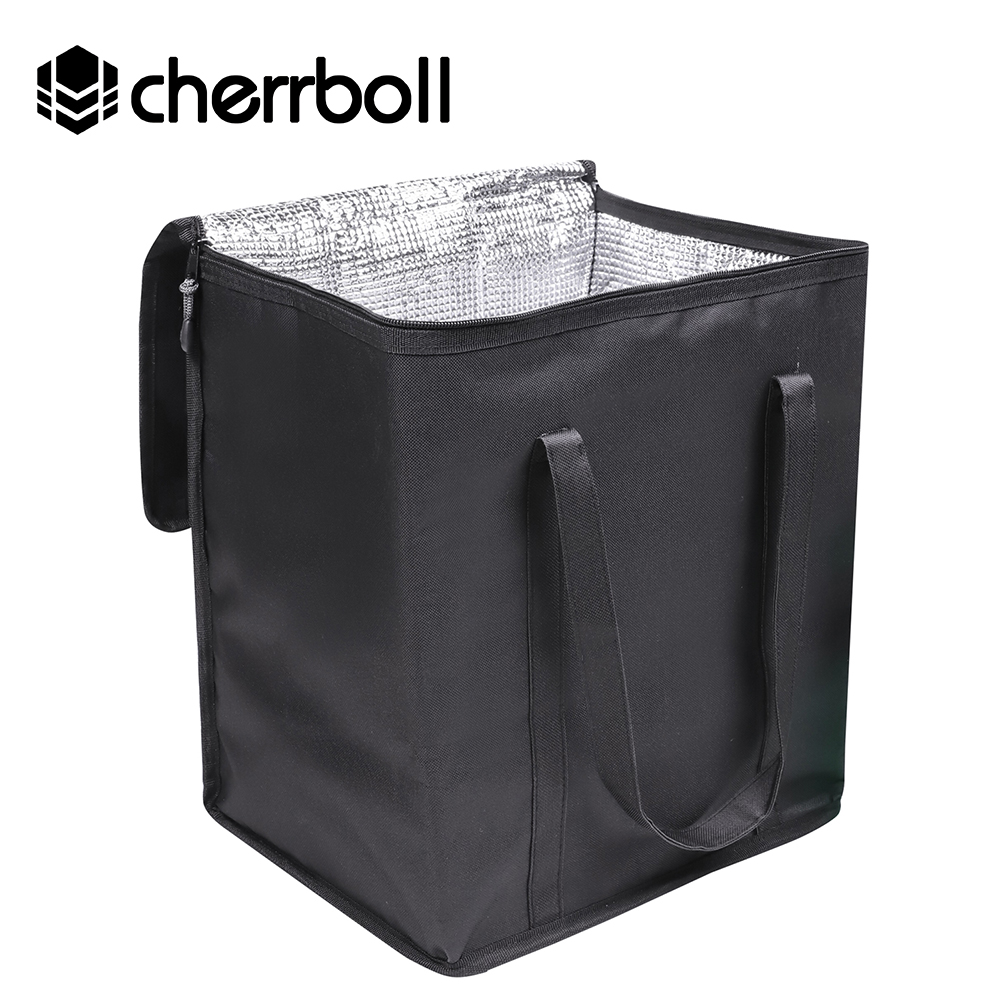 Cherrboll Réutilisable Épicerie Boîte Sacs Grand Premium Poignées & Fond Renforcé Isolé Glacière Alimentaire Sacs