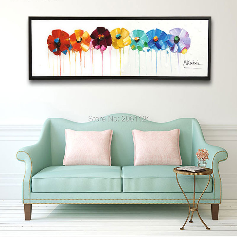 Popular floral canvas art buy cheap floral canvas art lots for Buy cheap canvas art