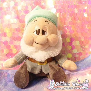 Image 5 - Seven Dwarfs Plush Dolls 25cm 10 Happy Sleepy Sneezy Dopey Grumpy Bashful Girls Toys Gifts