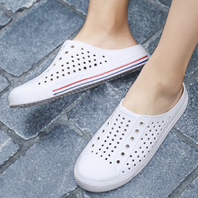 Sandals Men Hole Shoes Crocks Shoes Rubber Clogs For Men Women White Croc Unisex