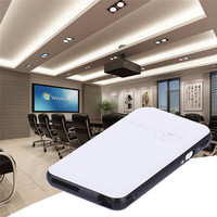 Portable Mini DLP Projector HD 1080P Smart wifi Home Projector 854 * 480 WIFI Smart Edition Android 4.4 HDMI Led Projector