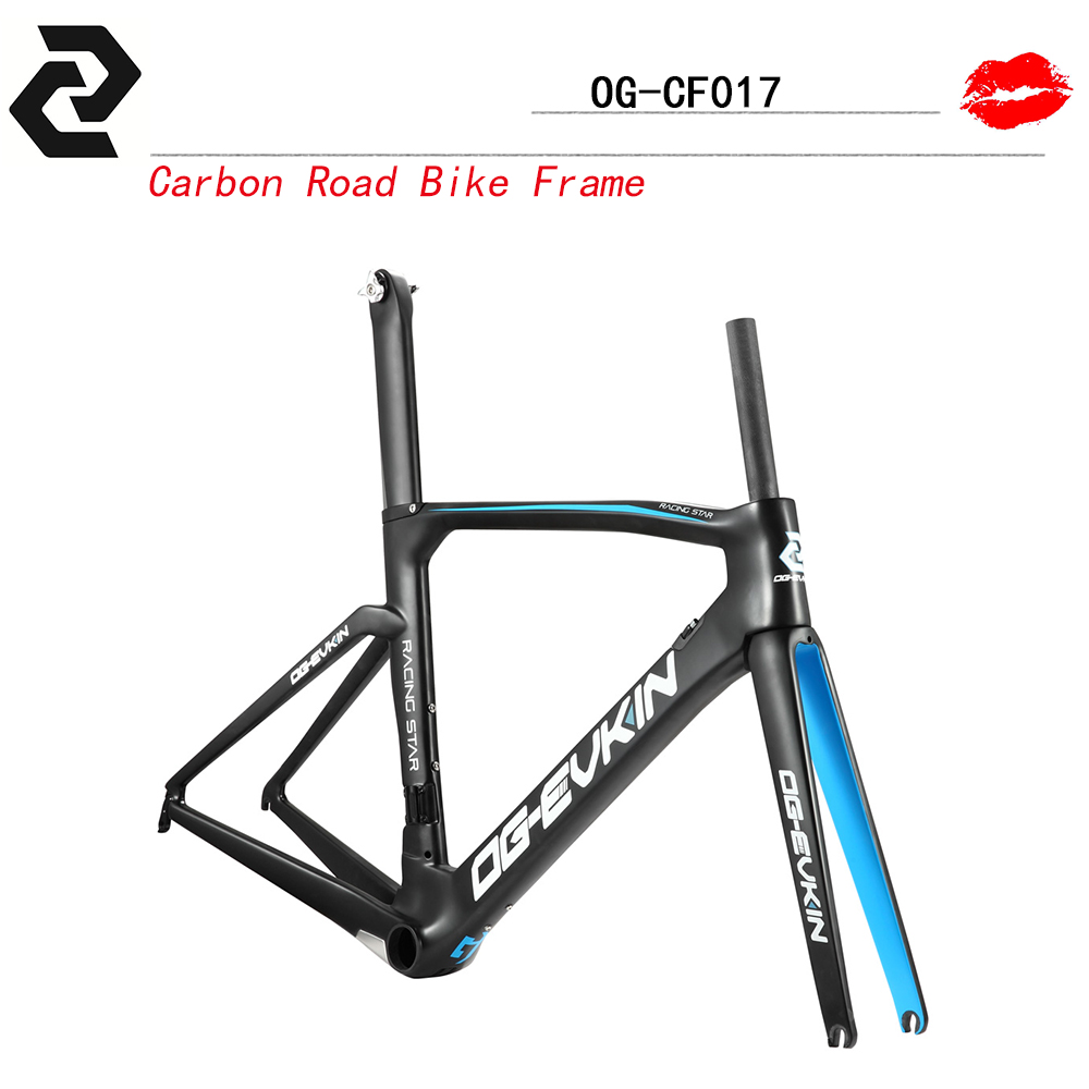 og evkin 2016 new painted aero carbon fiber frame bicycle road bike frame ud weave