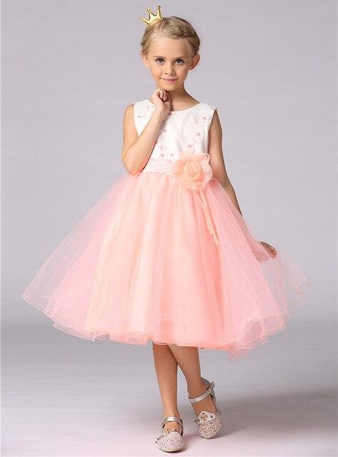 Tun dower kleine mädchen robe vestidos kleider baby kleidung ...