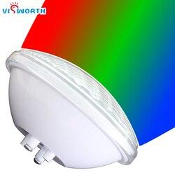 24 واط 36 واط LED مصباح تحت الماء Par56 السباحة إضاءة حمام السباحة/المسبح LED IP68 تيار مستمر 12 فولت SMD5730 تحت الماء مصباح RGB الدافئة الباردة الأبيض LED ...
