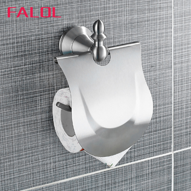 S Steel Nickle Toilet Paper Holders Wall Tissue Roll Holder Sanitary Ware Bathroom
