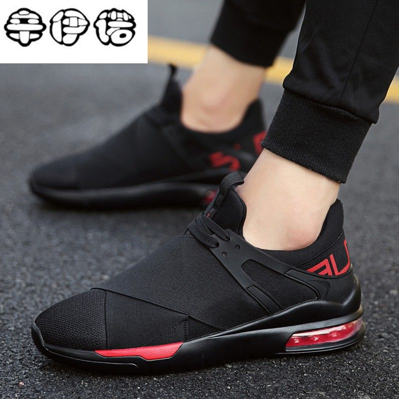 New Air Cushion Spring Summer Men Trainers Sneaker Casual Shoes Breathable Mesh Boy Shoes Fashion Lace Up Flats Male Sport Shoes spring summer casual mesh shoes lovers flat shoes lace up breathable footwear female vintage sneaker trainers sapatos masculino