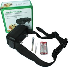 Auto Static Shock Anti No Bark Control Collar for Training Dog Stop Bark collar