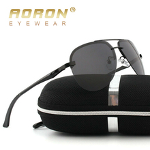 AORON Men Polarized Sunglasses Men Brand Design Sun Glasses