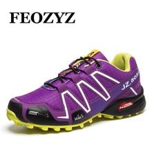 FEOZYZ 2017 New Trail Running Shoes For Men Women Outdoor Sport Shoes Cross Country Runner Sneakers Zapatillas Deportivas Hombre