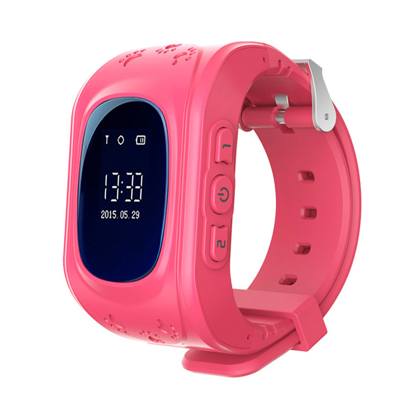 New Q50 Kids Smart Wristwatch Kid Safe GPS Track Smart Watch SOS Smart Monitoring Positioning Phone Watch Baby Anti Lost Monitor