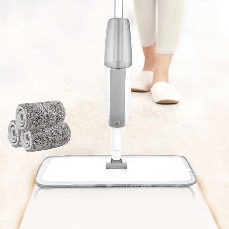 Spray Mop for Hardwood Floors Dust Mop with Microfiber machine washable Pad for a Quick Cleaner with a Refillable Water...