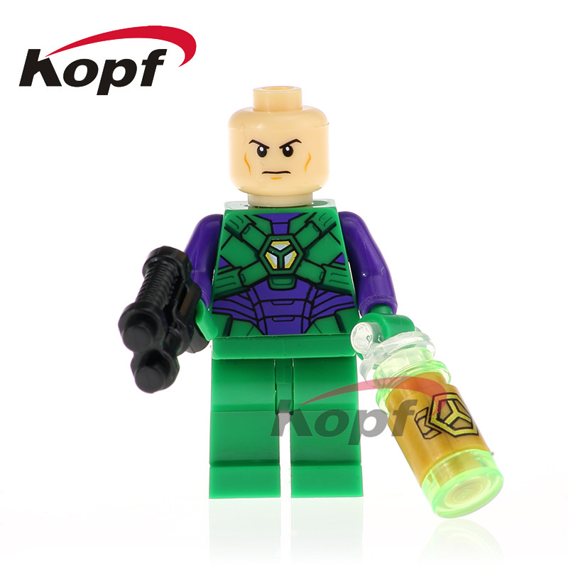 Single Sale Super Heroes Reverse-Flash Cheetah Lex Luthor Firestorm Building Blocks Toys For Children Gift XH 754