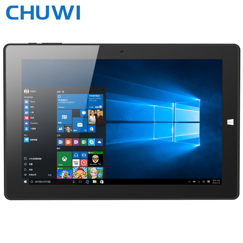 Original 10 1inch CHUWI Hi10 Tablet PC Intel Cherry Trail Z8350 Quad Core Windows 10 Android