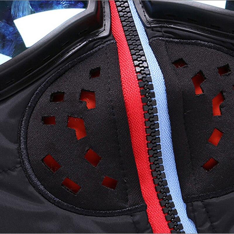 Rembourré Manteaux Vêtements Chaud Vestes Nouvelles Mince Épais Black Parkas Outwear Halloween Capuchon Coton À 1928 Hommes Lunettes En Manteau red blue D'hiver Veste size Oxa4qSP