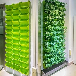 Modular Type Plant Wall Flower Pot Vertical Wall Hanging Green Flower Pot Garden Supplies