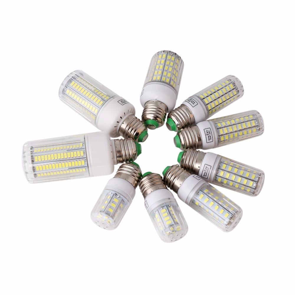LED Lamp 5730 SMD LED Bulb E27 E14 Corn 24 30 42 64 80 89 108 136 165 Leds Lamp Bombillas Light Bulbs Lampada Ampoule Lighting vbs real wattage 25w 35w 45w led lamp corn bulb 110v 220v e27 aluminum fan cooling 5730 smd led spot light corn light bulb