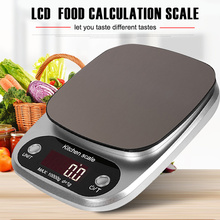 10kg/1g Mini Scale Stainless Steel Digital LCD Weighing Tool Bar Portable Jewelry Electronic with Tray laboratory balance scale 50g 0 001g high precision jewelry diamond gem lcd digital electronic scale counting function portable