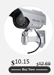 dummy camera waterproof outdoor fake camera powered solar battery Be Our Guest Audio main features