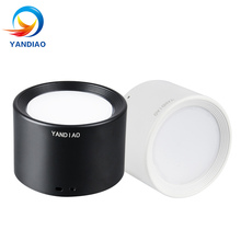 YANDIAO Surface Mounted Ceiling Downlight SMD5730 5W 7W 12W 18W AC85-265V lamp COB Led downlights Ceiling Spot light +led driver newest 7w super bright spot light 180 degree rotation ceiling lamp led spot down light ac85 265v led downlights surface mounted