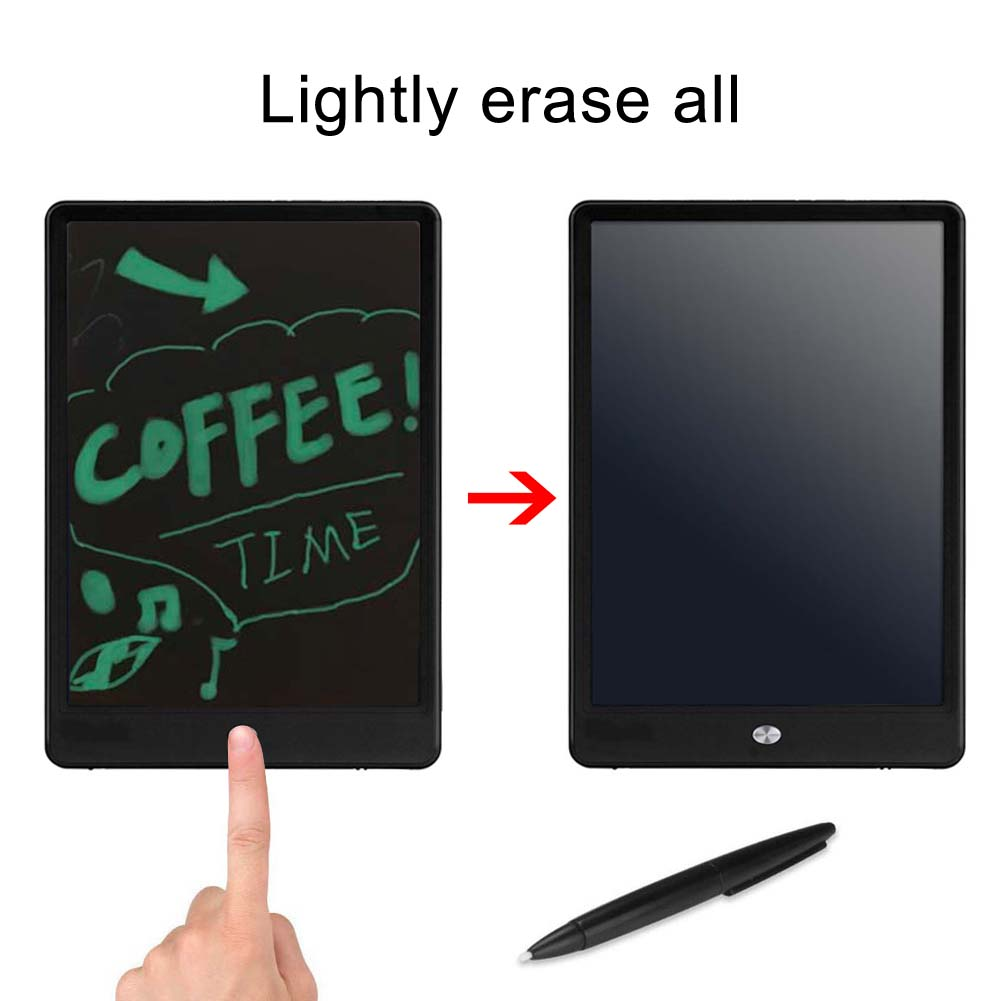 Portable 10 Inch LCD Writing Digital Drawing Tablets Board Handwriting Pad for Kids Adults with Temporarily Saved Function XXM portable colorful lcd writing drawing board tablet pad notepad electronic graphics digital handwriting with stylus pen
