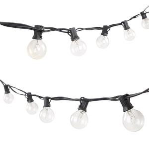 Image 5 - G40 globo festa de natal luz da corda guirlanda casamento jardim festa árvore rua pátio luzes fadas lâmpadas do vintage ao ar livre