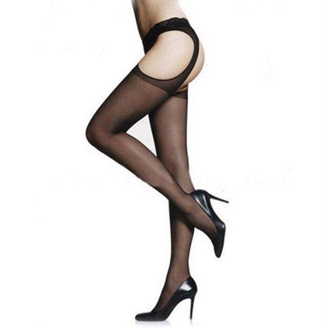 Cute Skinny Sexy Tease Knee Stocking 6