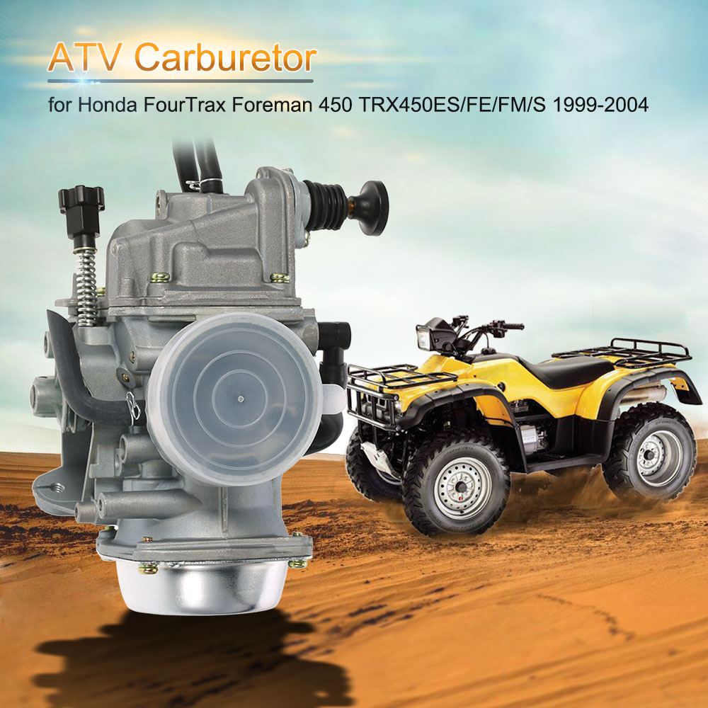 ATV Quad Carb Carburetor for Honda FourTrax Foreman 450 TRX450ES/FE/FM/S 1999-2004